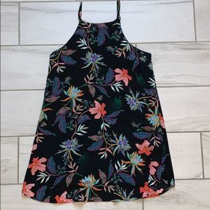 Cotton On neon floral shift dress size small